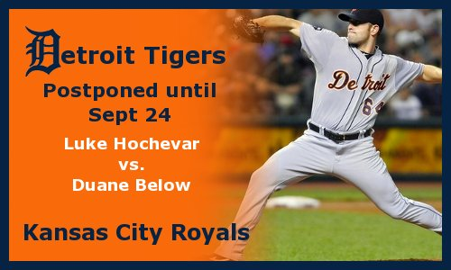 Post image for Game 2012.23: Royals at Tigers