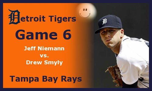 Post image for Game 2012.6: Rays at Tigers