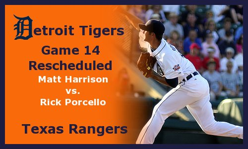 Post image for Game 2012.14: Rangers at Tigers