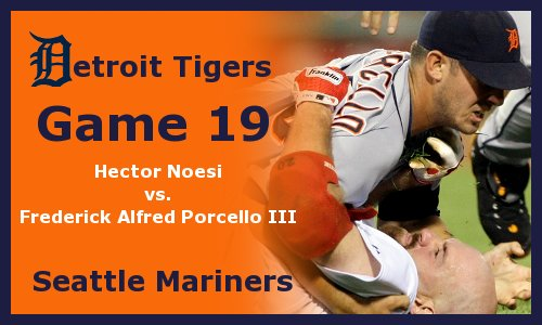 Post image for Game 2012.19: Mariners at Tigers