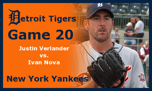 Post image for Game 2012.20: Tigers at Yankees