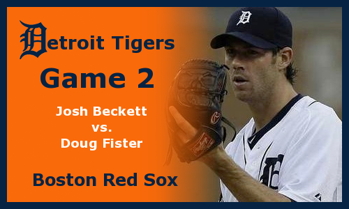 Post image for Game 2012.2: Red Sox at Tigers