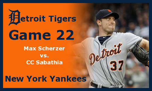 Post image for Game 2012.22: Tigers at Yankees