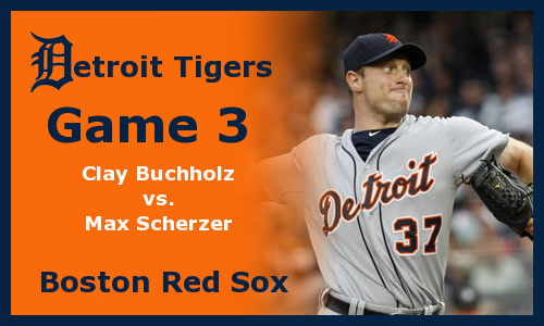 Post image for Game 2012.3: Red Sox at Tigers
