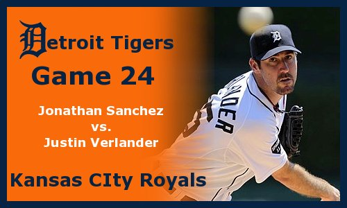 Post image for Game 2012.24: Royals at Tigers
