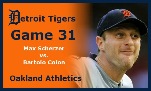Post image for Game 2012.31: Tigers at Athletics