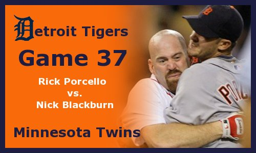 Post image for Game 2012.37: Twins at Tigers