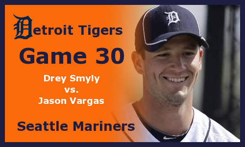 Post image for Game 2012.30: Tigers at Mariners