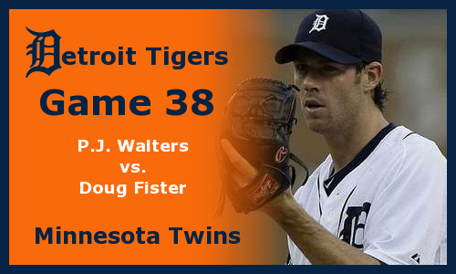 Post image for Game 2012.38: Twins at Tigers