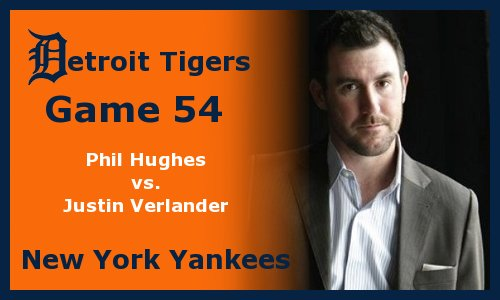 Post image for Game 2012.54: Yankees at Tigers