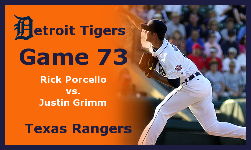 Post image for Game 2012.73: Tigers at Rangers