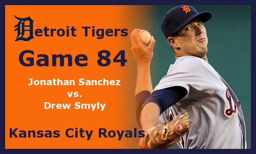 Post image for Game 2012.84: Royals at Tigers