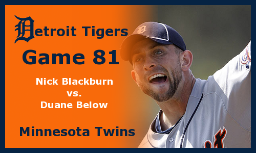 Post image for Game 2012.81: Twins at Tigers