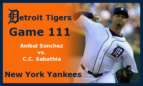 Post image for Game 2012.111: Yankees at Tigers