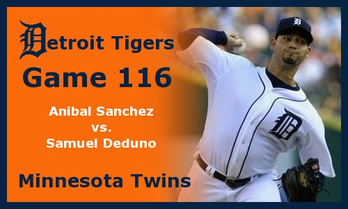 Post image for Game 2012.116: Tigers at Twins