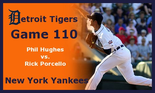Post image for Game 2012.110: Yankees at Tigers