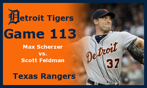 Post image for Game 2012.113: Tigers at Rangers