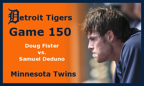 Post image for Game 2012.150: Twins at Tigers