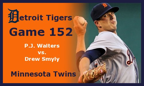Post image for Game 2012.152: Twins at Tigers