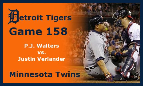 Post image for Game 2012.158: Tigers at Twins