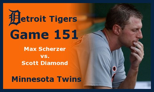 Post image for Game 2012.151: Twins at Tigers