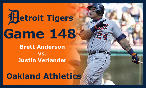 Post image for Game 2012.148: Athletics at Tigers