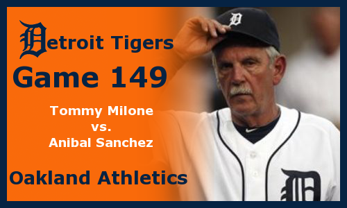Post image for Game 2012.149: Athletics at Tigers