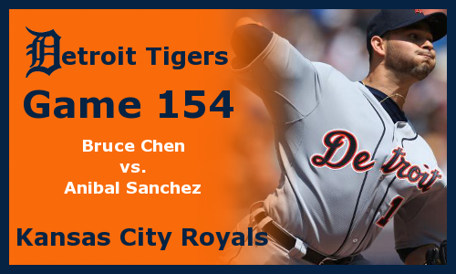 Post image for Game 2012.154: Royals at Tigers