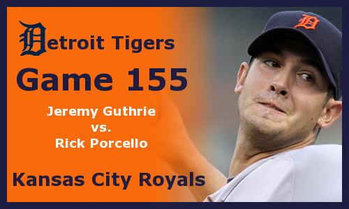 Post image for Game 2012.155: Royals at Tigers