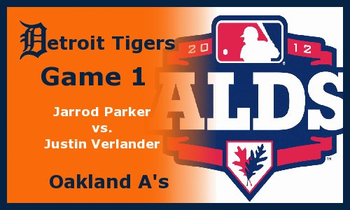 Post image for Game 2012 Playoffs.1: A's at Tigers
