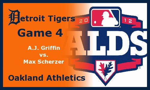 Post image for Game 2012 Playoffs.4: Tigers at A's