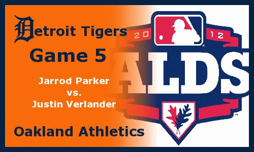 Post image for Game 2012 Playoffs.5: Tigers at A's