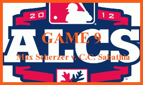 Post image for Game 2012 Playoffs.9: Yankees at Tigers