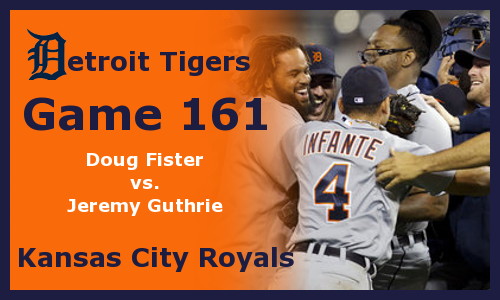 Post image for Game 2012.161: Royals at Tigers