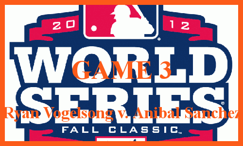 Post image for Game 2012 Playoffs.12: Giants at Tigers