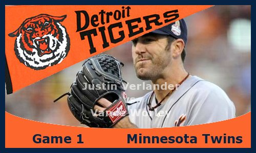 Post image for Game 2013.1: Tigers at Twins