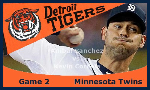 Post image for Game 2013.2: Tigers at Twins