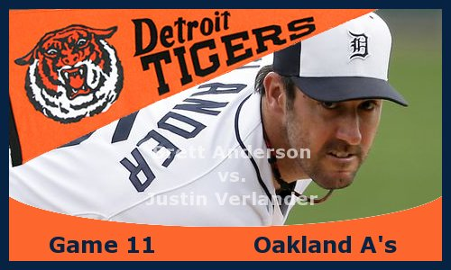 Post image for Game 2013.11: Tigers at A's
