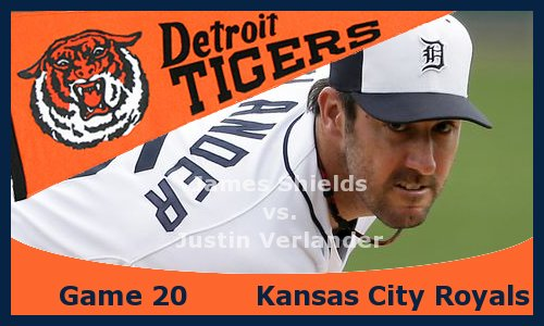 Post image for Game 2013.20: Royals at Tigers