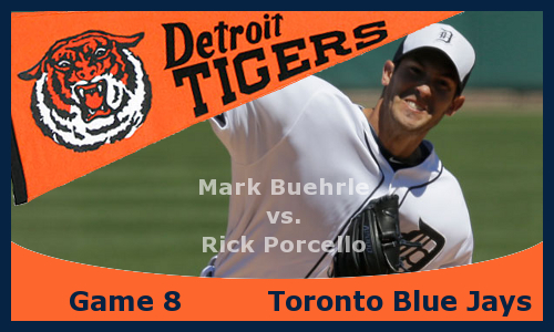 Post image for Game 2013.8: Blue Jays at Tigers