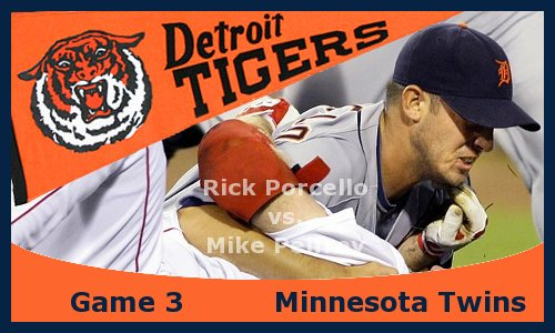 Post image for Game 2013.3: Tigers at Twins