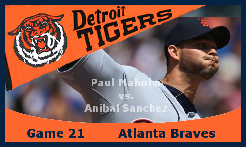 Post image for Game 2013.21: Braves at Tigers