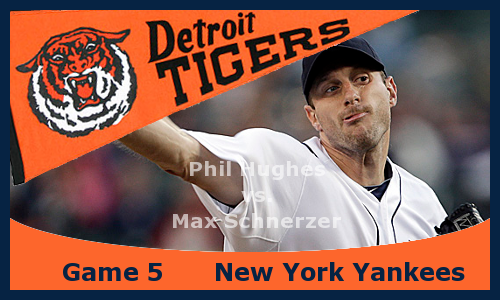 Post image for Game 2013.5: Yankees at Tigers