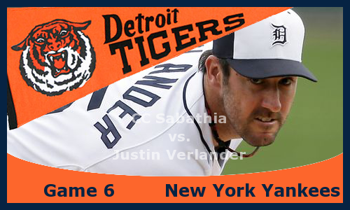 Post image for Game 2013.6: Yankees at Tigers