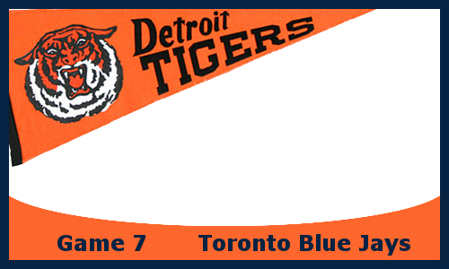Post image for Game 2013.7: Blue Jays at Tigers