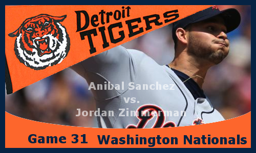 Post image for Game 2013.31: Nationals at Tigers