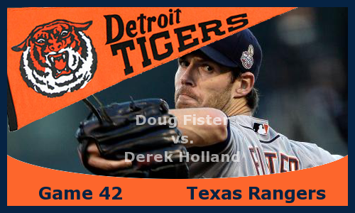 Post image for Game 2013.42: Tigers at Rangers