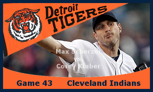 Game 2013.43: Tigers at Indians