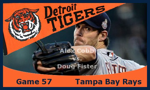 Post image for Game 2013.57: Rays at Tigers