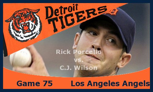 Post image for Game 2013.75: Angels at Tigers